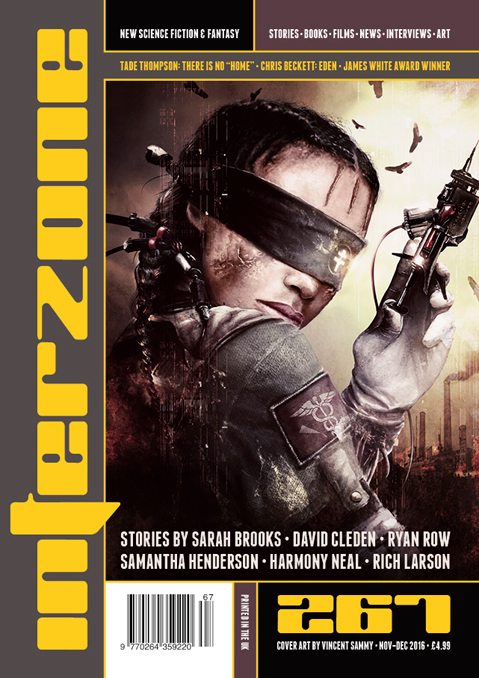 Interzone 267 cover