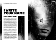 Item image: I Write Your Name