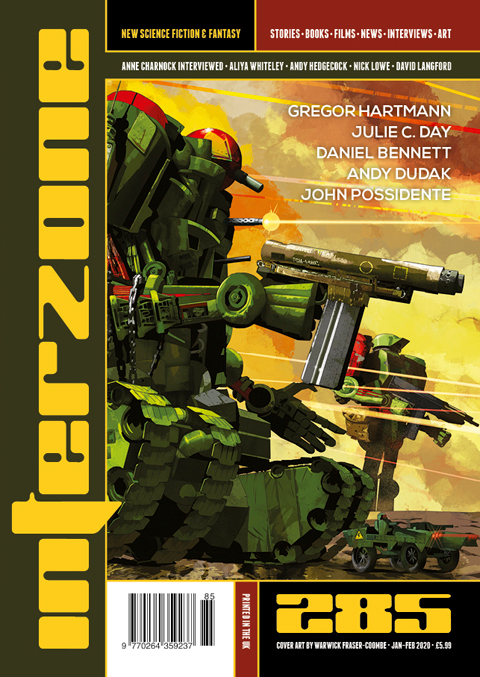 Interzone 285 cover