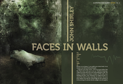 Faces in Walls
