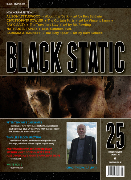 Black Static 25 Cover