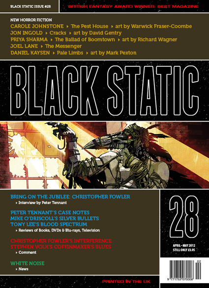 Black Static 28 Cover