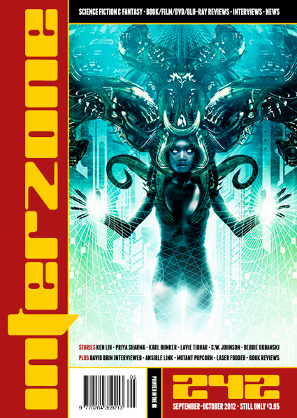 Interzone 242 Cover