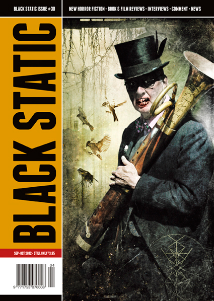 Black Static 30 Cover