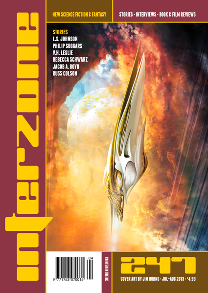 Interzone 247 Cover