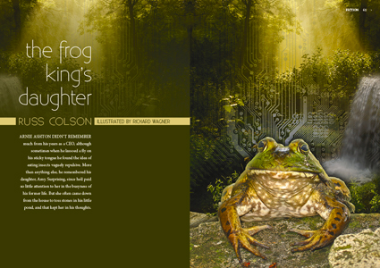 The Frog King's Daughter