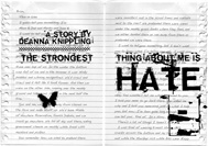Item image: The Strongest Thing About Me is Hate