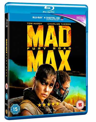 Item image: Mad Mx: Fury Road Blu-ray