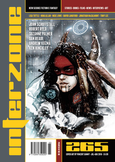 Interzone 265 Cover