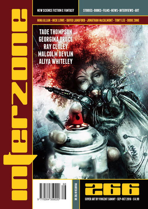 Interzone 266 cover